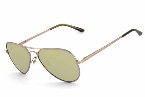 Peppers - Katama Gold Sunglasses, Gold Mirror Lenses