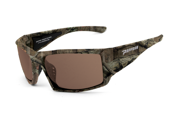 Peppers - Quiet Storm Break-up Infinity Sunglasses, Brown Lenses
