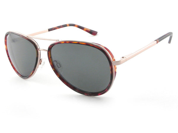 Peppers - Luna Gold and Tortoise Rim Sunglasses, G-15 Lenses