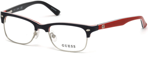 Guess - GU9174 Matte Blue Eyeglasses / Demo Lenses