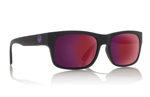 Dragon - Tailback Matte Black H2O / Plasma Ion Performance Polar Sunglasses