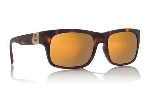 Dragon - Tailback Matte Tort / Gold Ion Sunglasses