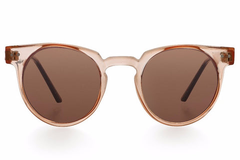 Spitfire Teddy Boy Tan Sunglasses, Brown Lenses