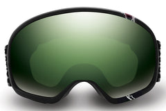 Native - Tank7 Striker Goggles, Green Mirror Lenses