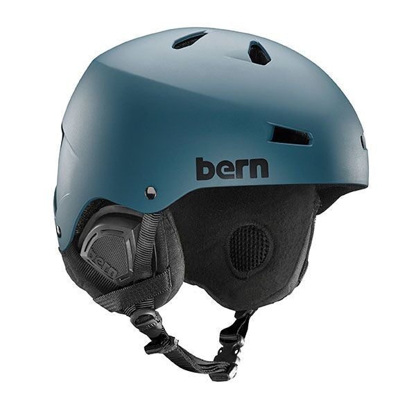 Bern - Macon EPS Matte Muted Teal Snow Helmet