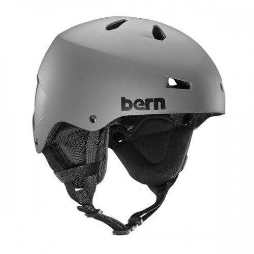 Bern - Team Macon Matte Grey Snow Helmet