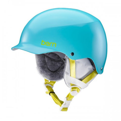 Bern - Team Muse Satin Aqua Snow Helmet