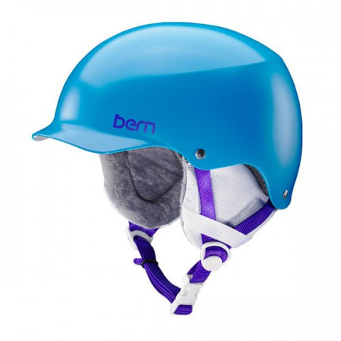 Bern - Team Muse Satin Ocean Blue Snow Helmet