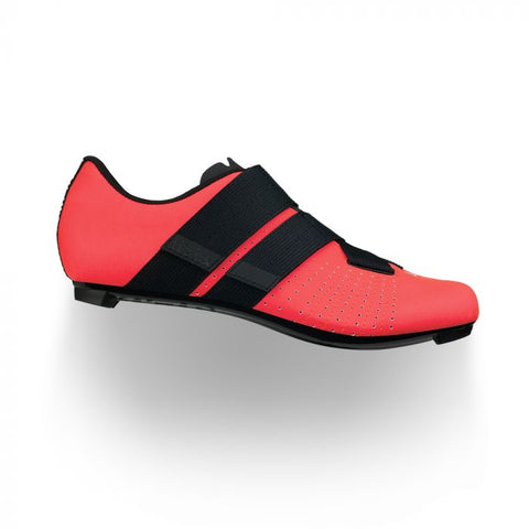 Fizik - Tempo Powerstrap R5 Coral Black Cycling Shoes