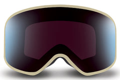 Native - Tenmile Pinstripe Goggles, Blue Mirror Lenses