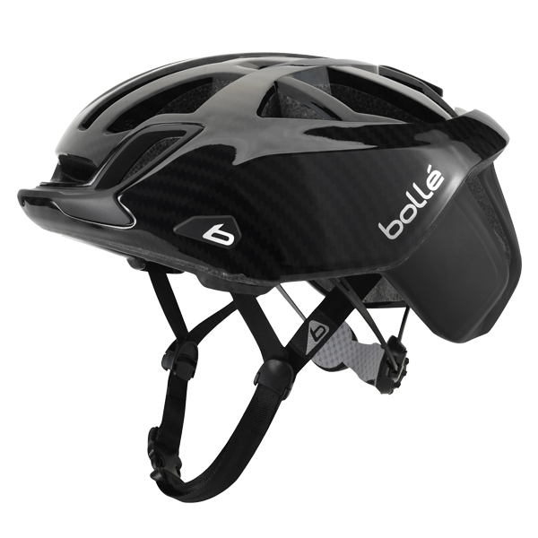 Bolle - The One Road Premium Black Carbon Cycling Helmet
