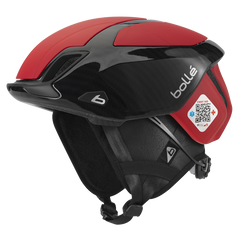 Bolle - The One Road Premium Red Carbon Cycling Helmet