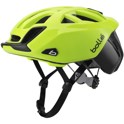 Bolle - The One Road Standard Black and Neon Yellow Cycling Helmet