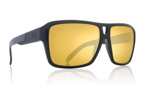 Dragon - The Jam Black Gold / Gold Ion Sunglasses