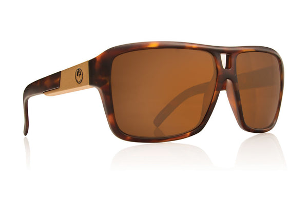 Dragon The Jam Matte Tort / Bronze Performance Polar Sunglasses