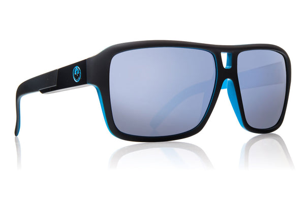 Dragon - The Jam Matte Black / Sky Blue Ion Sunglasses