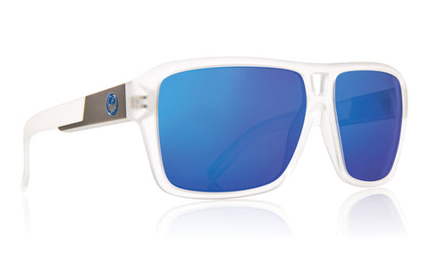 Dragon - The Jam Matte Clear / Blue Ion Sunglasses