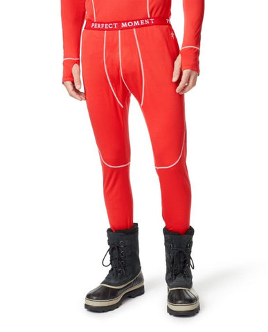 Perfect Moment - Men's Red Thermal Pants