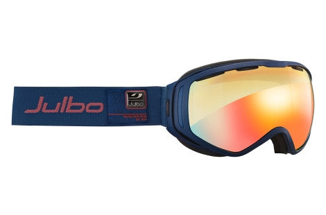 Julbo - Titan Blue Navy Goggles, Zebra Light Lenses
