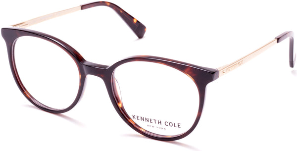 9354981190 Kenneth Cole - KC0288 Dark Havana Eyeglasses   Demo Lenses – New ...