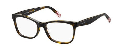 Tommy Hilfiger - Th 1489 Havana Red Eyeglasses / Demo Lenses