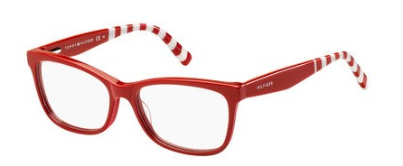 Tommy Hilfiger - Th 1489 Red Eyeglasses / Demo Lenses