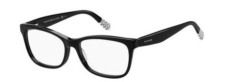 Tommy Hilfiger - Th 1489 Black Gray Eyeglasses / Demo Lenses