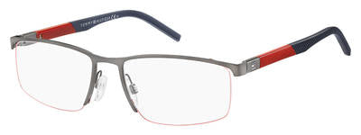 Tommy Hilfiger - Th 1640 Semi Matte Dark Ruthenium Eyeglasses / Demo Lenses