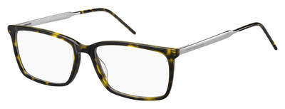 Tommy Hilfiger - Th 1641 Dark Havana Eyeglasses / Demo Lenses