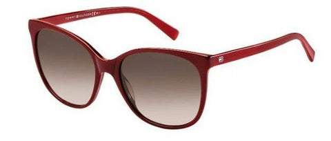 Tommy Hilfiger - Th 1448 S Red Sunglasses / Brown Gradient Lenses