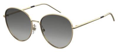 Tommy Hilfiger - Th 1649 S Gold Sunglasses / Dark Gray Gradient Lenses