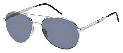 Tommy Hilfiger - Th 1653 S Palladium  Sunglasses / Blue Avio Lenses