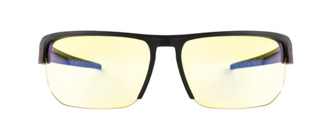 Gunnar - Vertex Onyx Reader Eyeglasses / Liquet Blue Light +1.25 Lenses