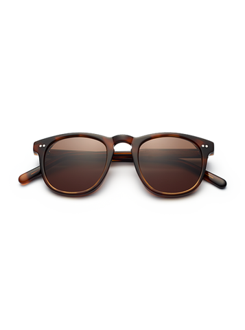 CHiMi - #001 47mm Tortoise Sunglasses / Brown Lenses