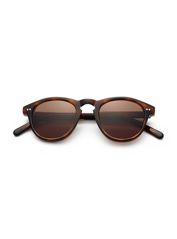 CHiMi - #002 47mm Tortoise Sunglasses / Brown Lenses