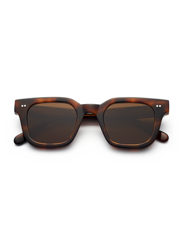 CHiMi - #004 46mm Tortoise Sunglasses / Brown Lenses