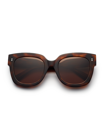 CHiMi - #008 54mm Tortoise Sunglasses / Brown Lenses
