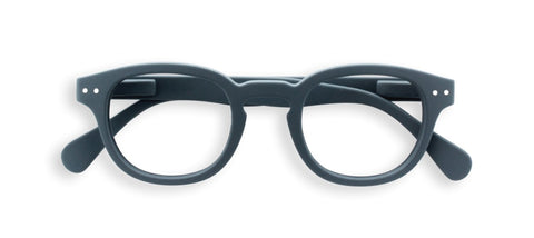 Izipizi - #C Grey Reader Eyeglasses / +2.50 Lenses