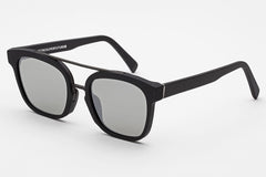 Super - Akin Black Matte Zero Sunglasses