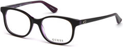 Guess - GU9176 Black Eyeglasses / Demo Lenses