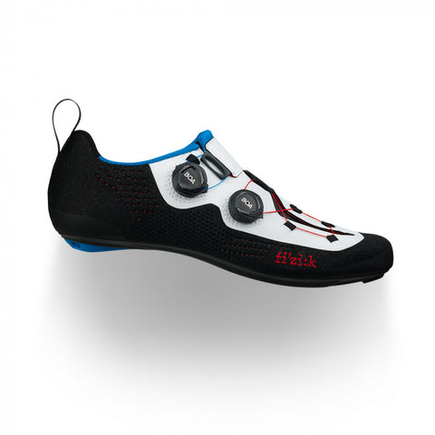 Fizik - Transiro Infinito R1 Knit Black White Triathlon Shoes