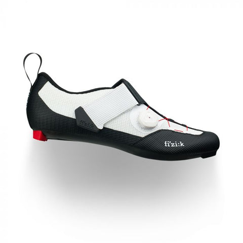 Fizik - Transiro Infinito R3 Black White  Triathlon Shoes  /  Lenses