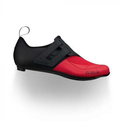 Fizik - Transiro Powerstrap R4 Black Red  Triathlon Shoes  /  Lenses