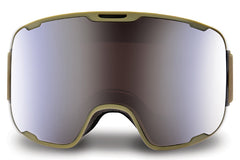 Native - Treeline Rider Goggles, Blue Mirror Lenses