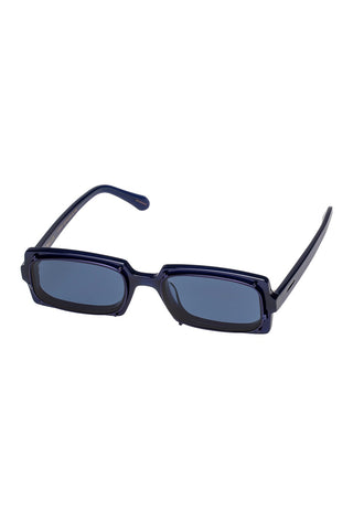 Karen Walker - Turing Ink Sunglasses / Navy Mono Lenses