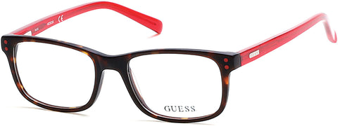 Guess - GU9161 Dark Havana Eyeglasses / Demo Lenses