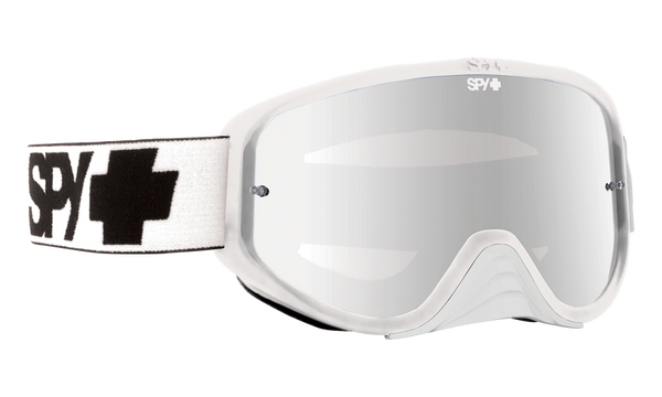 6c4cb59b84 Spy - Woot Race White MX Goggles   Smoke Silver Spectra + Clear AFP Lenses  – New York Glass