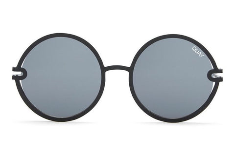 Quay Ukiyo Black / Smoke Sunglasses