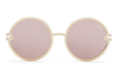 Quay Ukiyo Gold / Rose Sunglasses