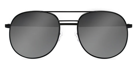 Elizabeth and James - Watts Black Sunglasses / Silver Mirror Lenses